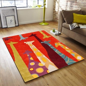Colorful tapis
