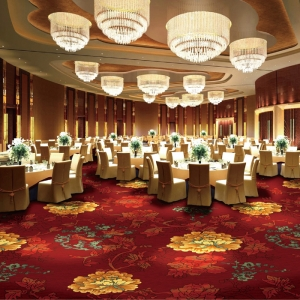 Customized Design Printed Carpet for Banquet Hall Hotel Room