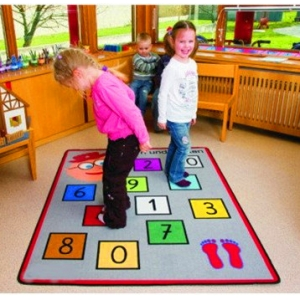 Cute Design Preschool Mat