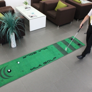 Dotcom Real Feel Golf Putting Mats Practice Swing Golf Training Indoor Putting Green