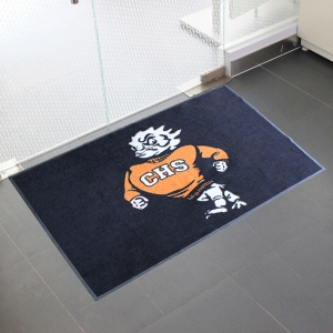 Sports Industrial Logo Floor Mat