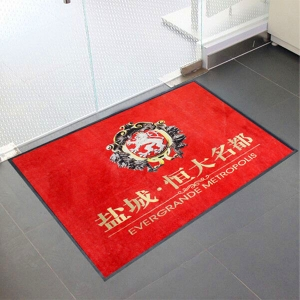 Immobilier Logo Industrial Mat Superficie