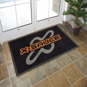 Floor Mats For Home Logo Printing On Rubber Entrance Mat