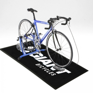 Personalized bicycle mat