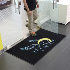 Printed Dust Control Advertising Logo Mat with High Quality