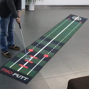 Real Feel Golf Putting Mat Tappetino per pratici Green Design personalizzato