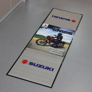 Suzuki Motorcycle Carpet