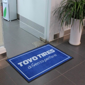 Tires Industrial Logo Floor Mat