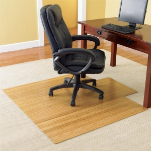 Wood chair mat