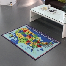 China Anti-slip American Map for Kids Playing factory