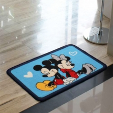 China Bathroom Logo Floor Mat factory