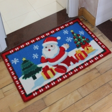 China Christmas Bath Mat factory