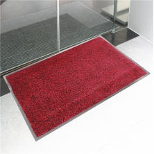 China Cotton & Nylon Cut Pile Door Mat factory