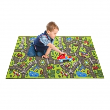 China Country Road Design Children Play Mat Hot Sell Items Kids Rug factory