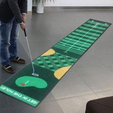China Custom Golf Putting Mat factory