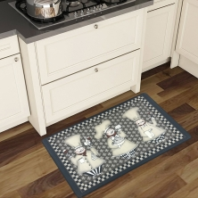 China Decorative Kitchen Mats Anti-Fatigue Comfort Floor Mat Manufacturer factory