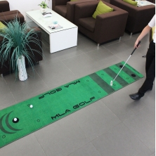 Chine Dotcom Real Feel Golf Putting Mats Practice Swing Golf Training Indoor Putting Green usine