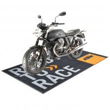 China Famous Motorcycle Brand Pit Mats Bike Parking Carpet-Fabrik