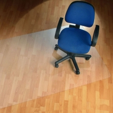 China For Hard Floor and Carpet Tiles Office PVC Chair Mat factory
