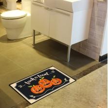 China Halloween Colored Bathroom Rugs factory
