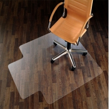 China Hard Plastic Floor Mat For Fffice Chairs Polyethylene Mat factory