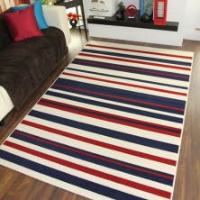 China Living Room Use Modern Abstract Area Rug factory