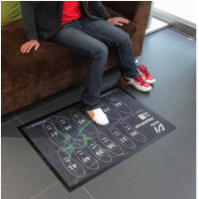 China Logo Mat For Shoes factory