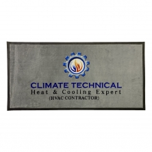 China Logo Mat with Custom Design and Logo factory