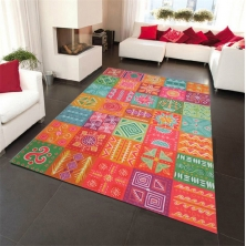 China Loop Pile Style Area Rug factory