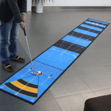 China Nylon Golf Mat with TPR Backing factory