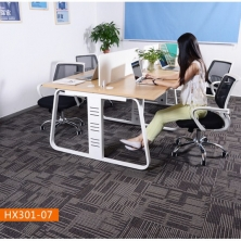 China Muti-level Loop Solution Dyed Polypropylene Carpet Tiles Commercial Use factory