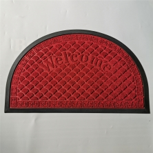 China New Design Shape Rubber Back Water Absorption & Dust Control Door Mats factory