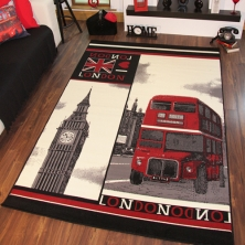 China Nylon Area Rug with sublimation Design factory