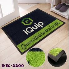 China Personalized  Promotional Custom Outdoor Rubber Door Mats factory