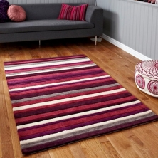 China Stripe Line Area Rug factory