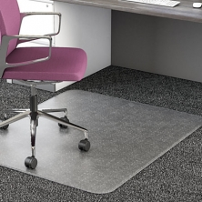 China Studded Chair Mat For Low-Pile Carpets factory