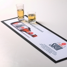 China Sublimation Rubber Logo Bar Mat-Fabrik