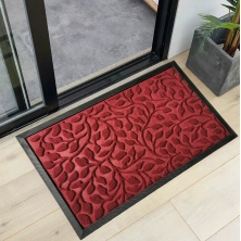 China Wear-resisting Anti Slip Entrance Door Mat with Unique Convex Design factory
