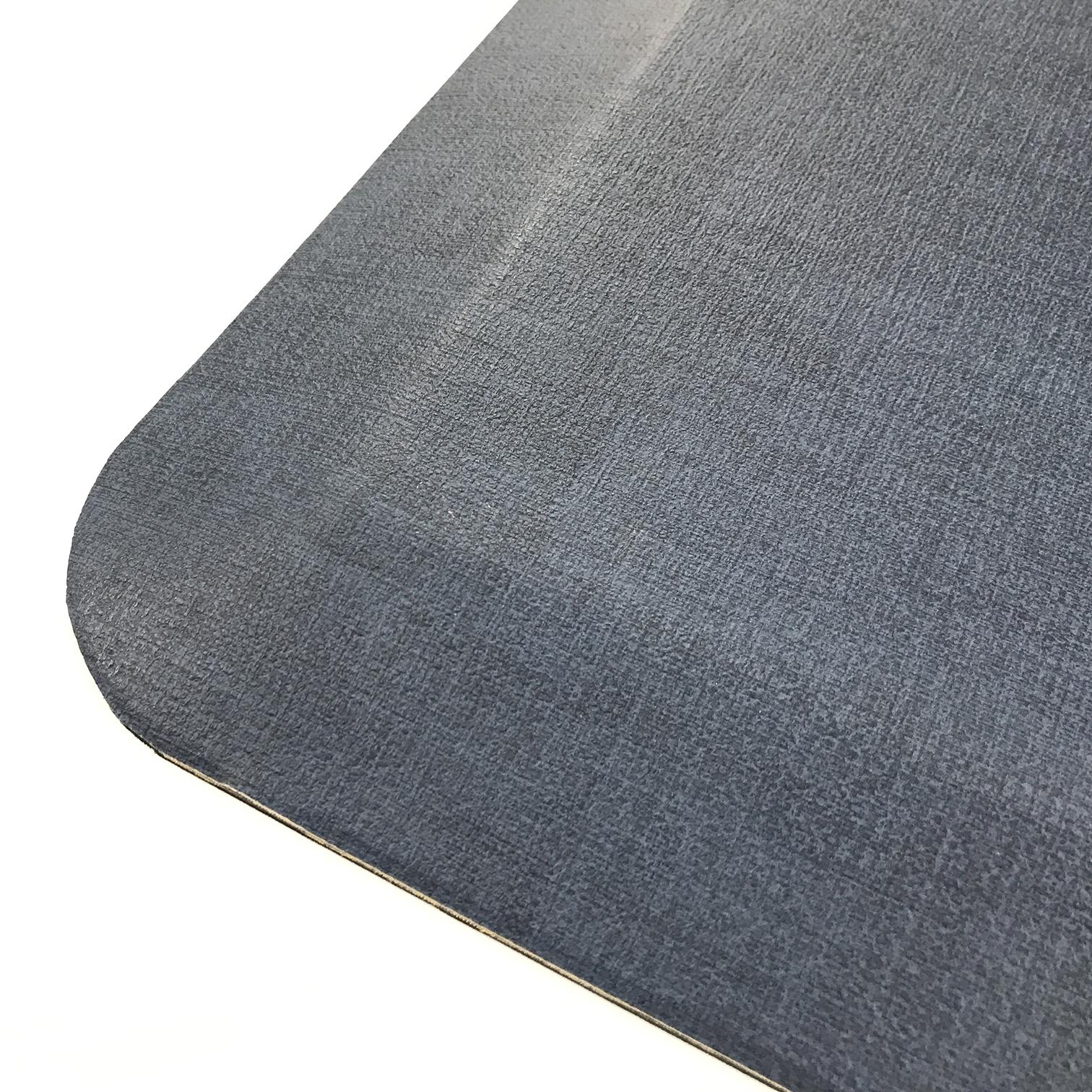 Black Grey Rubber Anti Fatigue Mat Pu Pvc Standing Desk