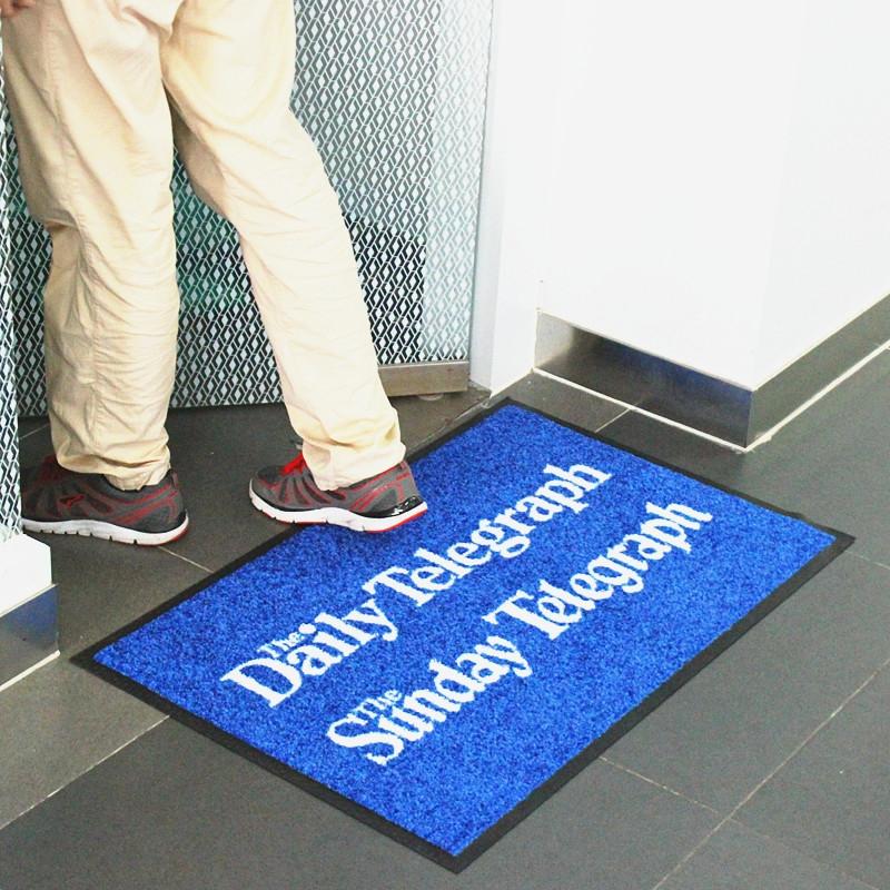 Office floor mats with logo arrow trax entrance mat for 100 floor 84