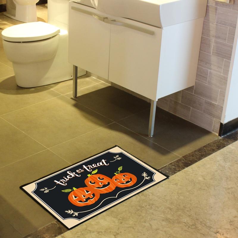 Tappeti da bagno halloween colorati nero lucido tappeti - Tappeti da bagno ...