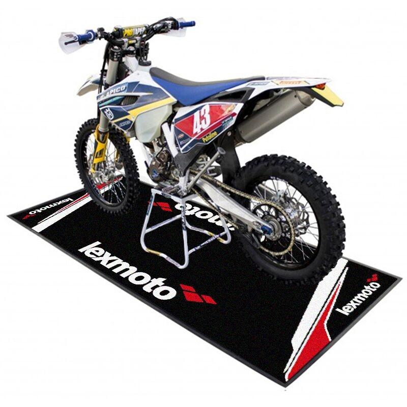 MotorradLogo Teppich