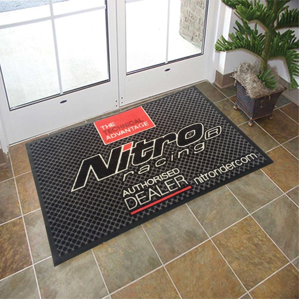 Rubber Mats Machinery Custom Commercial Printed Floor Mats