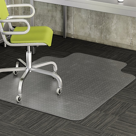 Shenzhen Tile Floor Pvc Chairmate For Office 30 Quot X 48