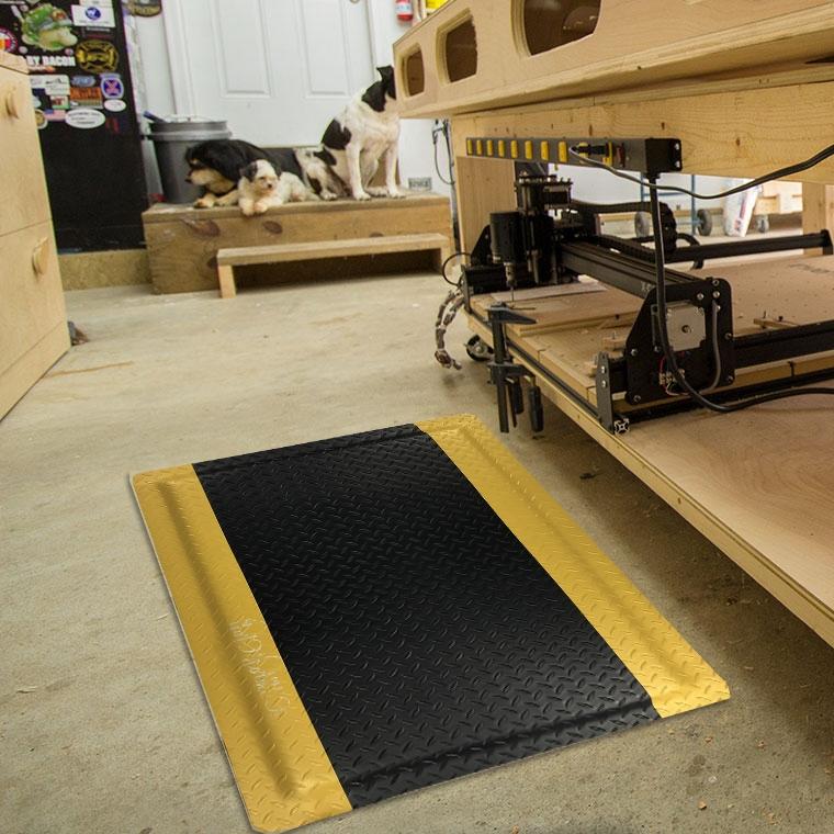 Tapis de sol anti-fatigue pour tapis d\'atelier pour travailleurs ...